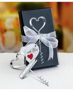 Love design corkscrew in deluxe box (Pack of 10)