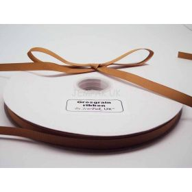 5M x 10mm Grosgrain ribbon - Gold