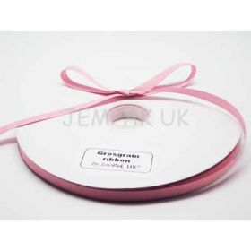 5M x 10mm Grosgrain ribbon- Baby pink