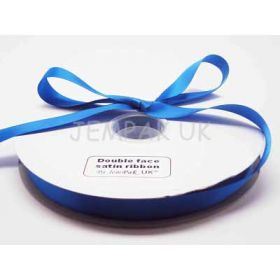 5M x 15mm Double face satin ribbon - Royal Blue