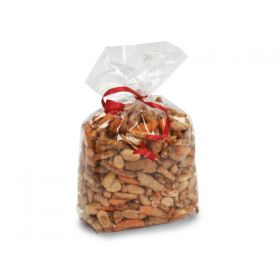 """Pack of 25 Extra Large clear gusseted cellophane sweets / Party / Gift bags  (5¼"""" x 3"""" x 13"""")"""