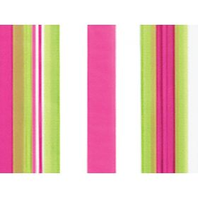 Pack of 10 Sweet stripes cellophane bags (13cm x 8cm x 28cm)