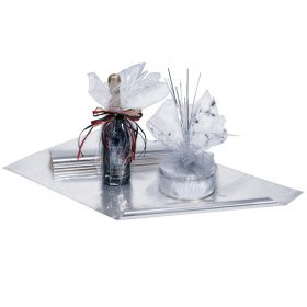 Pack of 10 Clear cellophane Sheets (76cm long x 45cm wide)