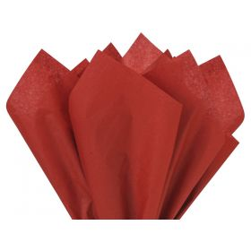 Pack of 4 tissue paper - Cherry Red (51cm x 76cm)