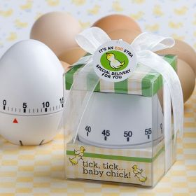 Egg timer in box with ribbon (Pack of 2)