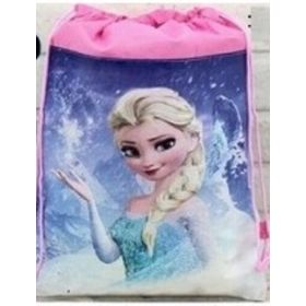 FROZEN ELSA- kids drawstring backpack gym/swimming/school bag