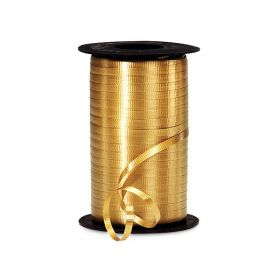457M x 5mm Berwick Curling ribbon (Embossed) - Holiday gold