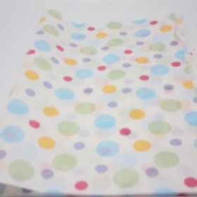 Pack of 6 Dipped dot recycled tissue paper (51cm x 76cm)
