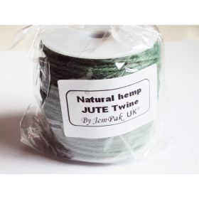 91.4M x 2mm x 2mm thick TEAL natural Hemp Jute twine  rope