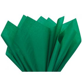 Pack of 4 tissue paper - Kelly green (51cm x 76cm)