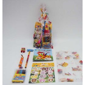 Mixed colours/unisex kids pre-filled party bag