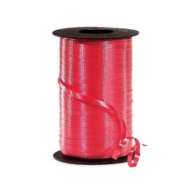457M x 5mm Berwick Curling ribbon (Embossed) - Cherry red