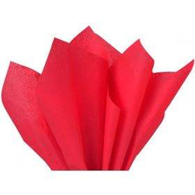 Pack of 4 tissue paper - Red (51cm x 76cm)