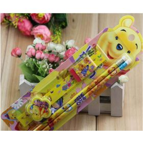 5 in 1 kids Disney Winnie the Pooh stationary set
