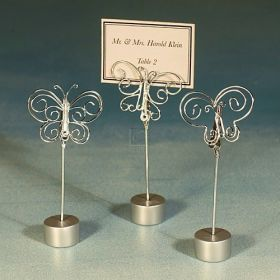 Wire butterfly place card holder (Pack of 10)