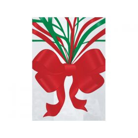 Pack of 20 Xmas Jubilee cellophane bags ( 9cm x 5cm x 19cm)