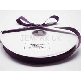 5M x 15mm Grosgrain ribbon - Purple
