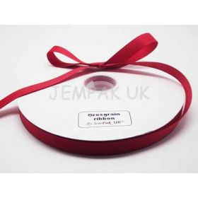 5M x 15mm Grosgrain ribbon - Red