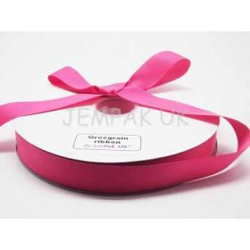 5M x 25mm Grosgrain ribbon - Camelia Rose