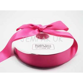 5M x 38mm Double face satin ribbon - Camila Rose