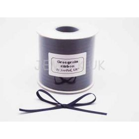 5M x 5mm Grosgrain ribbon - Navy blue