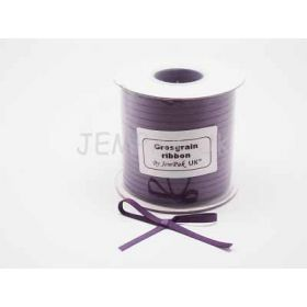 5M x 5mm Grosgrain ribbon  - Purple