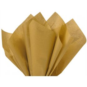 Pack of 4 tissue paper - Desert tan (51cm x 76cm)