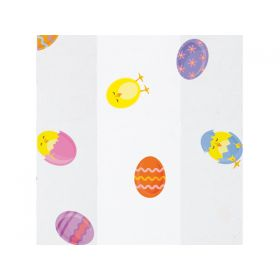 Pack of 10 EASTER CHICKS Cello Bags (10cm x 5cm x 23cm)