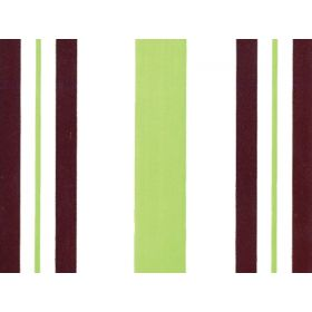 Pack of 10 Stripes pistachio & Chocolate cellophane bags (10cm x 5cm x 23cm)