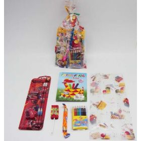 Cartoon car kids pre-filled party bag