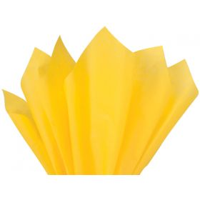 Pack of 4 tissue paper - Daffodil (51cm x 76cm)
