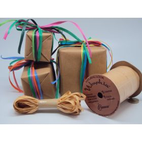 10M CUT Berwick Matte Raffia ribbon - Gold