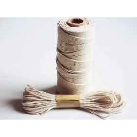 JEMPAK UK 10M x 2mm thick 100% cotton bakers twine  -  Light yellow