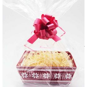 Nordic Snowflake design Xmas gift box/hamper making kit