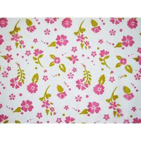 Paisley floral toss cellophane roll (80cm x 30M)