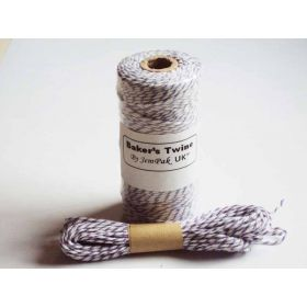 JEMPAK UK 10M x 2mm thick 100% cotton bakers twine  - Purple