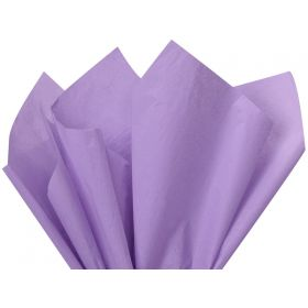 Pack of 4 tissue paper - Lavender  (51cm x 76cm)