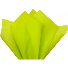 Pack of 4 tissue paper - Lime green (51cm x 76cm)