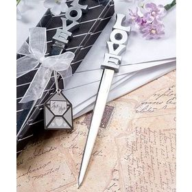 """Love"" Letter opener in clear top box with ribbon (Pack of 2)"