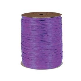 91.4M Berwick Matte Raffia ribbon  - Purple