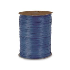 91.4M Berwick Matte Raffia ribbon - Royal blue
