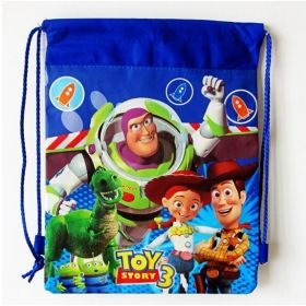 Toystory - kids drawstring backpack gym/swimming/school bag - (Design B)