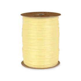 91.4M Berwick Matte Raffia ribbon - Yellow