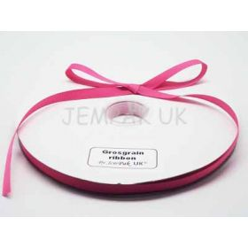 5M x 10mm Grosgrain ribbon - Camelia Rose