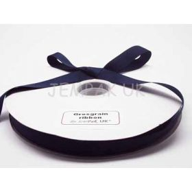 5M x 15mm Grosgrain ribbon - Navy blue
