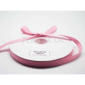 5M x 15mm Grosgrain ribbon - Baby pink