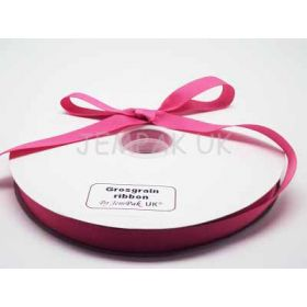 5M x 15mm Grosgrain ribbon - Camelia Rose