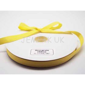 5M x 15mm Grosgrain ribbon  - Yellow