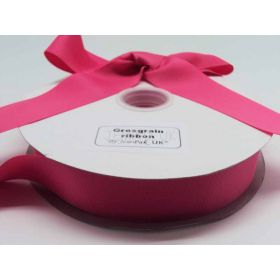 5M x 38mm Grosgrain ribbon - Camelia Rose