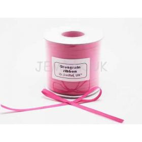 5M x 5mm Grosgrain ribbon - Camilia rose